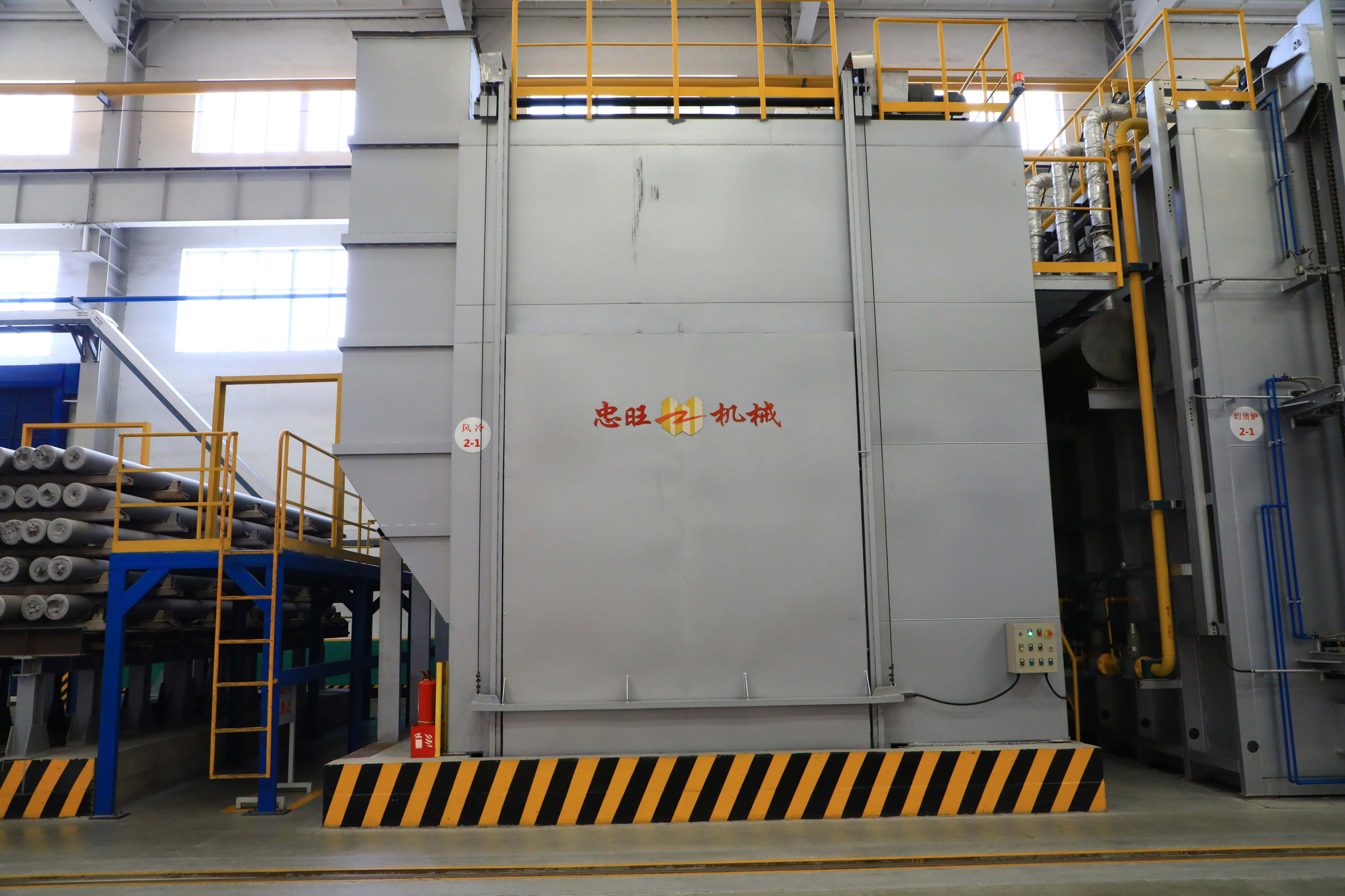 铝棒冷却室
